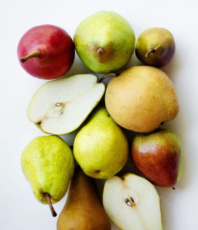 رنگ های زیبای این میوه
